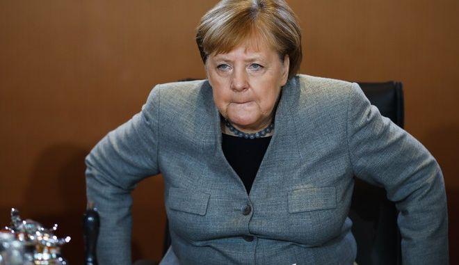 Η Καγκελάριος της Γερμανίας Α.Μέρκελ