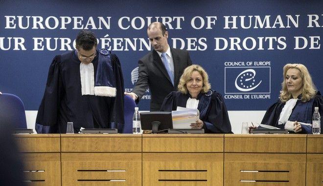 Εικόνα από το Ευρωπαϊκό Δικαστήριο Ανθρωπίνων Δικαιωμάτων
