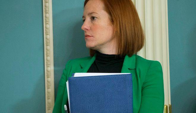 Η Τζεν Ψάκη θα είναι γραμματέας Τύπου του Τζο Μπάιντεν