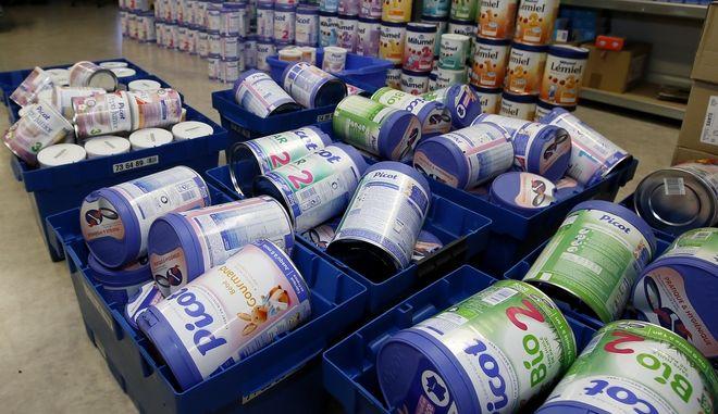 Γαλλία: Ανακαλούνται τα βρεφικά γάλατα γνωστού ομίλου