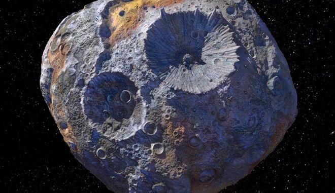 Ο αστεροειδής Ψυχή 16