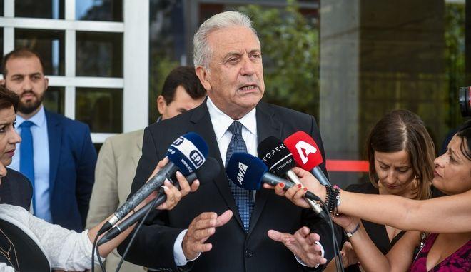 Κατάθεση στον Άρειο Πάγο του Ευρωπαίου Επιτρόπου και πρώην υπουργού Υγείας Δημήτρη Αβραμόπουλου