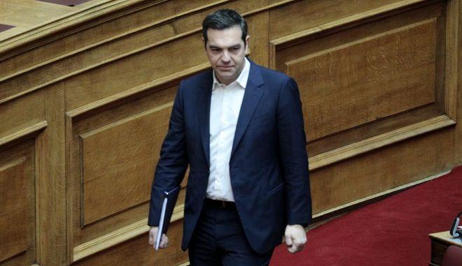 """Συνέχιση της συζήτησης και ψήφιση του σχεδίου νόμου του υπουργείου Εργασίας και Κοινωνικών Υποθέσεων """"Ασφαλιστική μεταρρύθμιση και ψηφιακός μετασχηματισμός Εθνικού Φορέα Κοινωνικής Ασφάλισης (e-Ε.Φ.Κ.Α.)"""", την Πέμπτη 27 Φεβρουαρίου 2020.  (EUROKINISSI/ΓΙΑΝΝΗΣ ΠΑΝΑΓΟΠΟΥΛΟΣ)"""