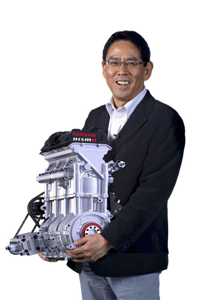 Nissan. Φέρνει έναν 400 ίππων 3-κύλινδρο 1.5 λ. Turbo κινητήρα για το ZEOD RC