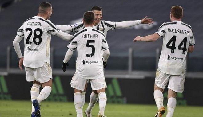 Γιουβέντους - Κάλιαρι 2-0: Καθάρισε με δύο γκολ ο Κριστιάνο Ρονάλντο