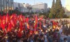 Μαζική συγκέντρωση του ΠΑΜΕ στο Σύνταγμα ενάντια στο νομοσχέδιο για τις διαδηλώσεις