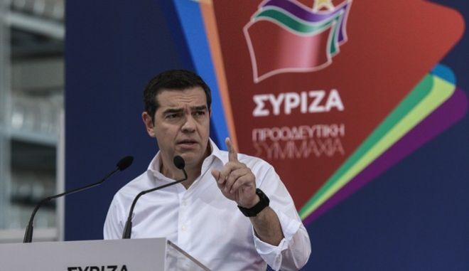 Ο Αλέξης Τσίπρας στην συνεδρίαση της Κεντρικής Επιτροπής Ανασυγκρότησης του ΣΥΡΙΖΑ, Σάββατο 27 Ιουνίου 2020