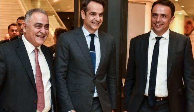 Βραβεία βιώσιμης, καινοτόμου και υπεύθυνης επιχειρηματικότητας από το Επαγγελματικό Επιμελητήριο Αθήνας, Τετάρτη 28 Νοεμβρίου 2018.(EUROKINISSI/ΤΑΤΙΑΝΑ ΜΠΟΛΑΡΗ)