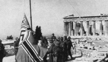 Υποστολή της γερμανικής σημαίας (30/5/1941) Germanikisimaia30512