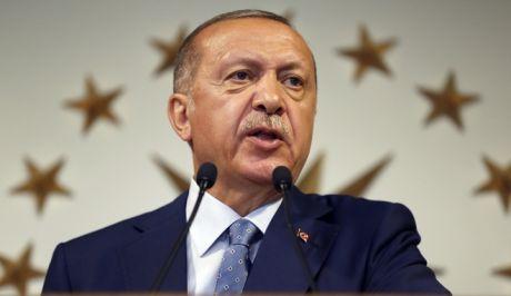 Ο πρόεδρος Ταγίπ Ερντογάν