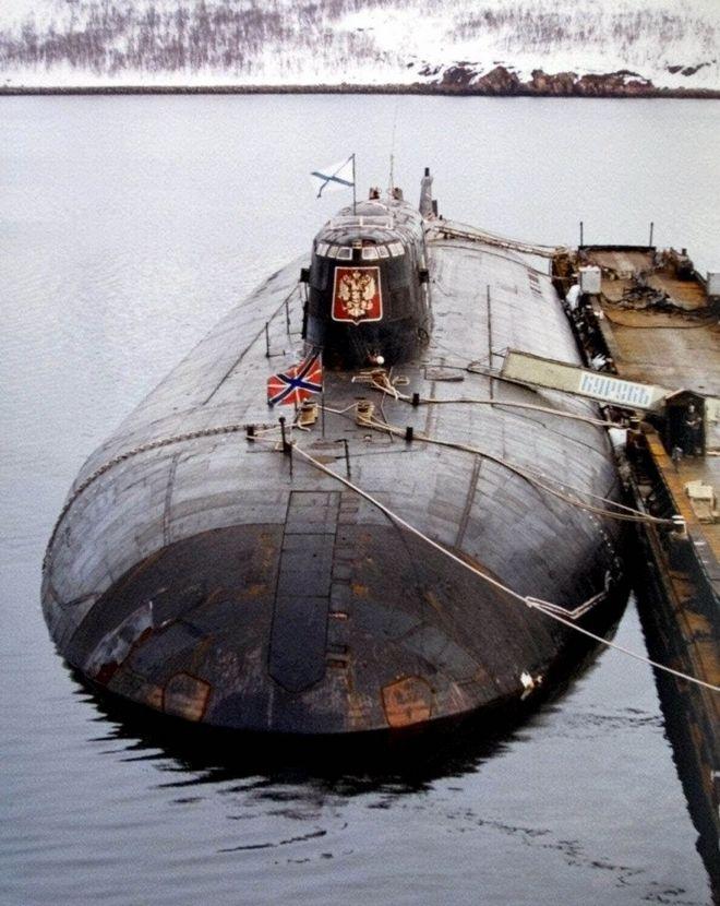 To σοβιετικό πυρηνικό υποβρύχιο
