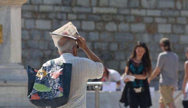 Διατηρούνται οι υψηλές θερμοκρασίες στην Αθήνα