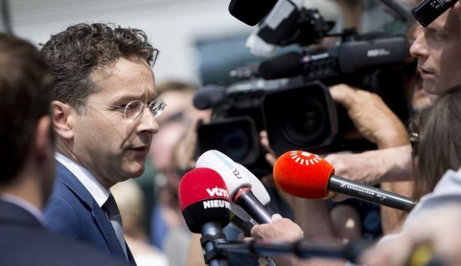 Συνεδρίαση του Eurogroup στις Βρυξέλλες το Σάββατο 11 Ιουλίου 2015. (EUROKINISSI/ΕΥΡΩΠΑΪΚΗ ΕΝΩΣΗ)