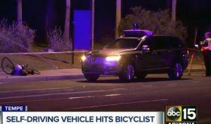 Αυτοκίνητο της Uber χωρίς οδηγό σκότωσε πεζή
