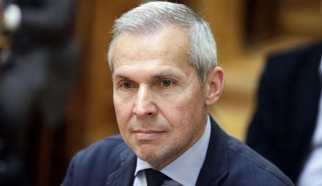 Συνεδρίαση της Ειδικής Κοινοβουλευτικής Επιτροπής για τη διενέργεια προκαταρκτικής εξέτασης κατά του πρώην Υπουργού Ιωάννη Παπαντωνίου, για την ενδεχόμενη τέλεση αδικημάτων στο πλαίσιο σύναψης συμβάσεων εξοπλιστικών προγραμμάτων του Υπουργείου Εθνικής Άμυνας την Τετάρτη 26 Απριλίου 2017. (EUROKINISSI/ΓΙΩΡΓΟΣ ΚΟΝΤΑΡΙΝΗΣ)