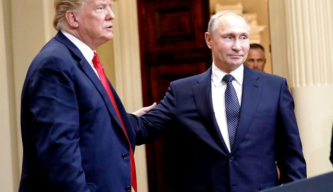 Συνάντηση Τραμπ-Πούτιν στο Ελσίνσκι