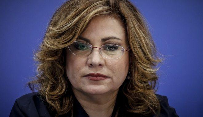 Η ευρωβουλευτής της ΝΔ, Μαρία Σπυράκη