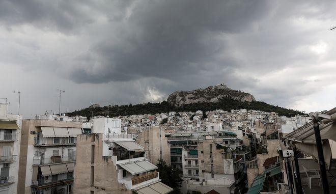 Kαταιγίδα στην Αθήνα