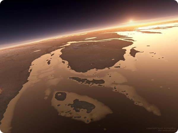 Κοιτώντας το ηλιοβασίλεμα από τον... Άρη