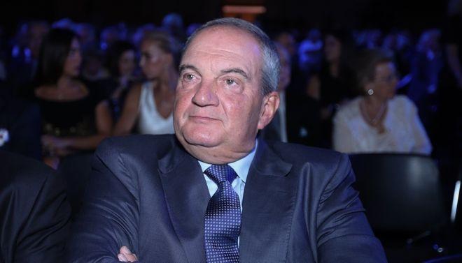 O πρώην πρωθυπουργός Κώστας Καραμανλής