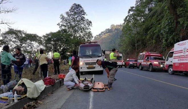Επτά τροχαία, στα οποία έχουν εμπλακεί λεωφορεία, σημειώθηκαν σε διάστημα 37 ημερών στον Ισημερινό