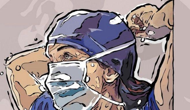 """""""Χρώμα Στα Νοσοκομεία"""": Καλλιτέχνες γκραφίτι ζωγραφίζουν το ΑΧΕΠΑ"""