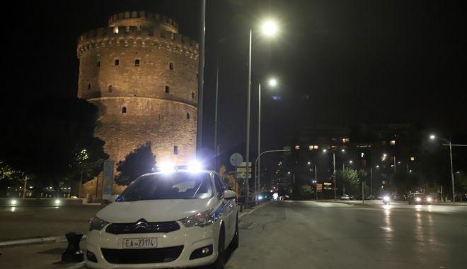 Έλεγχοι στη Θεσσαλονίκη. Φωτό αρχείου.