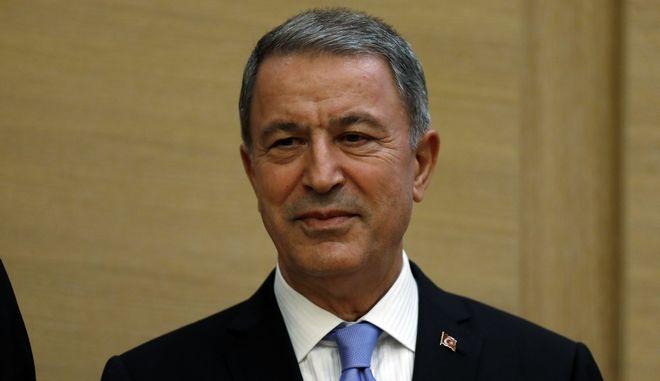 Ο πρώην επικεφαλής του Γενικού Επιτελείου και νυν Υπουργός Άμυνας της Τουρκίας, Χουλουσί Ακάρ