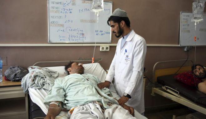 Τραυματίας στο νοσοκομείο