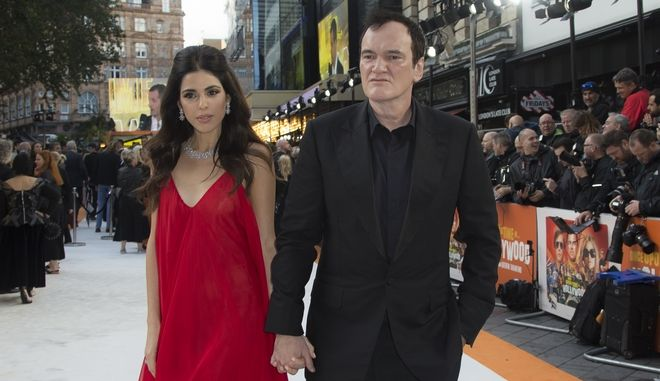 Ο Κουέντιν Ταραντίνο και η σύζυγός του Ντανιέλα Πικ