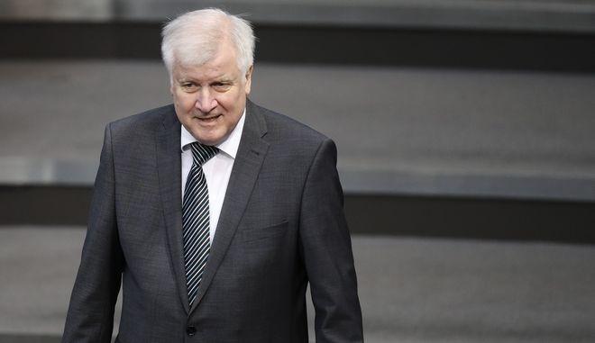 Ο υπουργός Εσωτερικών Γερμανίας, Χορστ Ζεεχόφερ