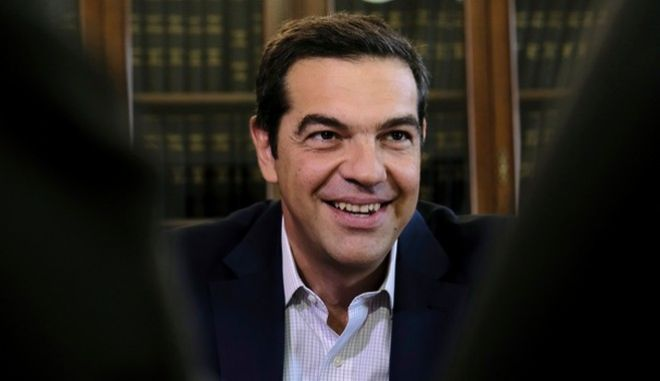 Meeting between Greek Prime Minister Alexis Tsipras and stakeholders of northern Greece in Thessaloniki, Greece on Aug. 26, 2017. /           . ,                  26  2017.