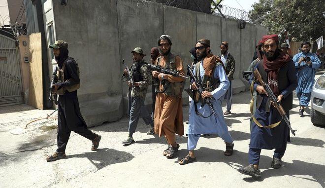 Μαχητές των Ταλιμπάν στην Καμπούλ