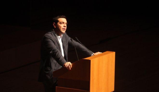 Εκδήλωση μνήμης για τα 15 χρόνια από το θάνατο του Κ. Καραμανλή παρουσία του προέδρου της Δημοκρατίας Κ. Παπούλια την Τετάρτη 6 Μαρτίου 2013.  Ομιλίες απηύθυναν οι πολιτικοί αρχηγοί κ.κ. Α. Σαμαράς, Α. Τσίπρας, Ε. Βενιζέλος και Φ. Κουβέλης. (EUROKINISSI/ΣΥΝΕΡΓΑΤΗΣ)