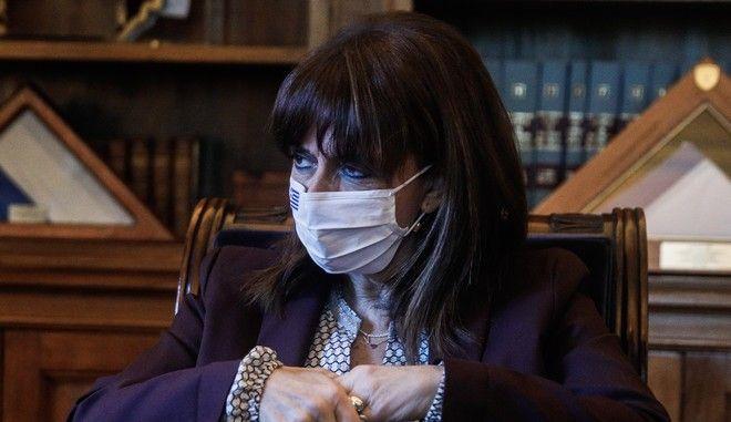 Η Κατερίνα Σακελλαροπούλου