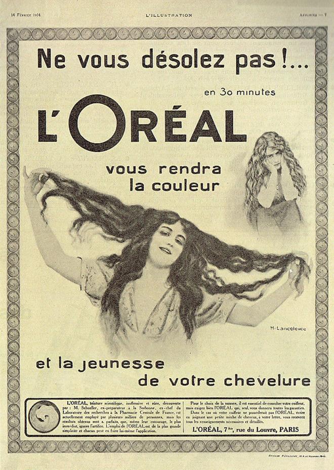 O ιδρυτής της L' Oreal ήταν και ο πατέρας της σύγχρονης διαφήμισης. Ένας από τους λόγους είναι αυτός που βλέπεις.