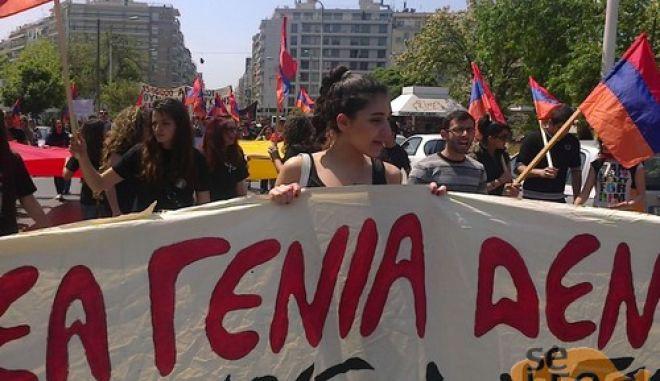 Ένταση και χημικά έξω από το τούρκικο προξενείο στη Θεσσαλονίκη