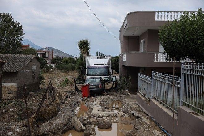 Στιγμιότυπο από την περιοχή Μπούρτζι της Εύβοιας