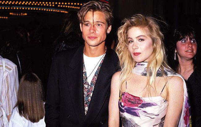 Brad Pitt & Christina Applegate   (Photo by Jeff Kravitz/FilmMagic)