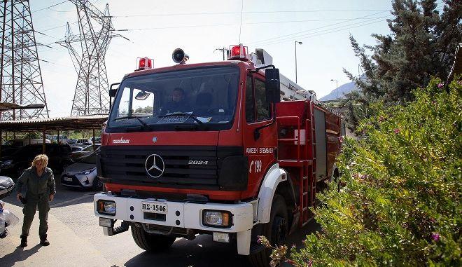 Έκρηξη στη μονάδα της ΔΕΗ στα Ληνοπεράματα στο Ηράκλειο της Κρήτης, το μεσημέρι της Παρασκευής 22 Μαρτίου 2019.