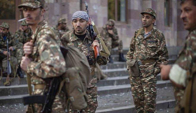 Στρατιώτες της Αρμενίας