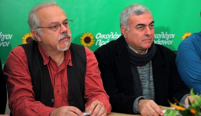 Μιχάλης Τρεμόπουλος και Νίκος Χρυσόγελος