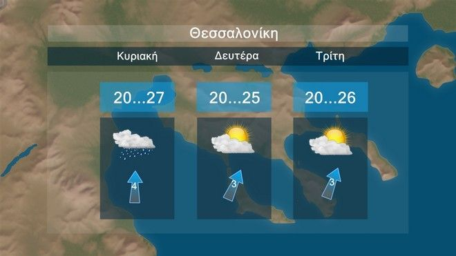 Καιρός: Βροχές και καταιγίδες, πτώση θερμοκρασίας και ενίσχυση βορείων ανέμων