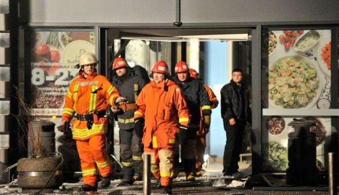 Τραγωδία στη Λετονία από κατάρρευση οροφής πολυκαταστήματος