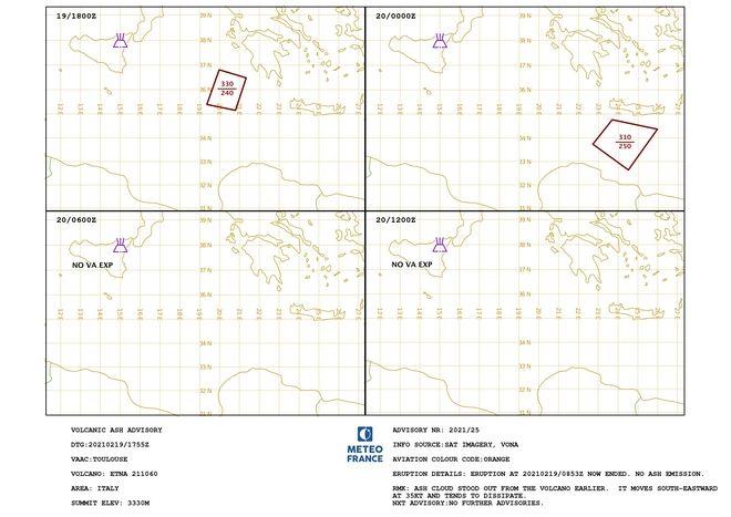 Αίτνα: Πώς κατέγραψε ο δορυφόρος την πορεία της ηφαιστειακής τέφρας