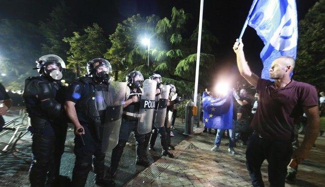 Φωτό αρχείου: Διαδήλωση στην Αλβανία