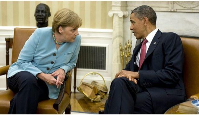 Ομπάμα και Μέρκελ τρώνε Currywurst και συζητάνε για Τραμπ, Πούτιν και ελληνικό χρέος