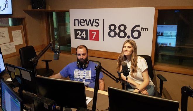 News 24/7 στους 88,6: Η Εύα Καϊλή απαντά ζωντανά στους ακροατές