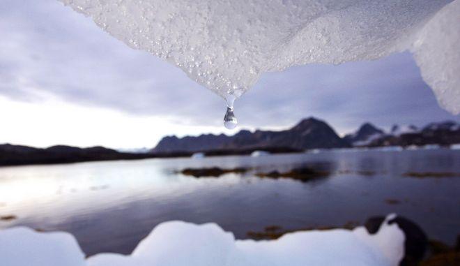 Λιώσιμο των πάγων λόγω της κλιματικής αλλαγής