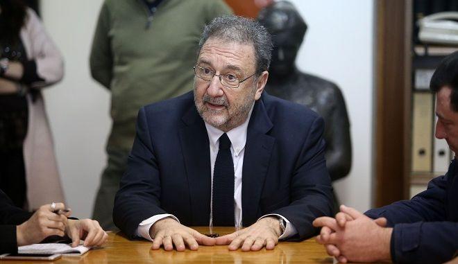 Ο Αναπληρωτής υπουργός Οικονομίας και Ανάπτυξης, Στέργιος Πιτσιόρλας